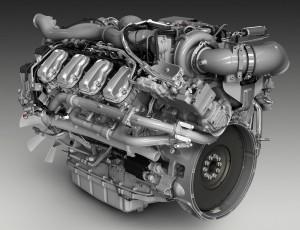 мотор седельного тягача Scania