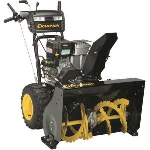 как работает оборудование для уборки снега