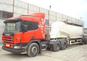 использование тягачей Scania в строительстве