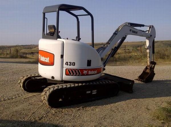описание и технические характеристики Bobcat 430