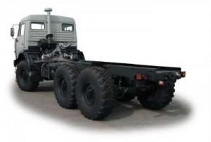 КамАЗ-43118, его характеристики