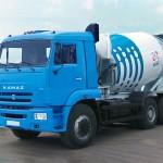 автобетоносмеситель на базе КамАЗ-6520