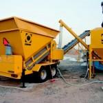 мобильный мини-бетонный завод