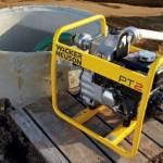 использование мотопомпы для сильнозагрязненной воды