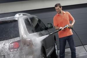 как помыть машину с помощью опрыскивателя Маролекс
