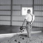 виброрейка для стяжки бетона и пола