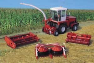 зерноуборочная техика Полесье