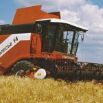 основные характеристики зерноуборочного комбайна Полесье