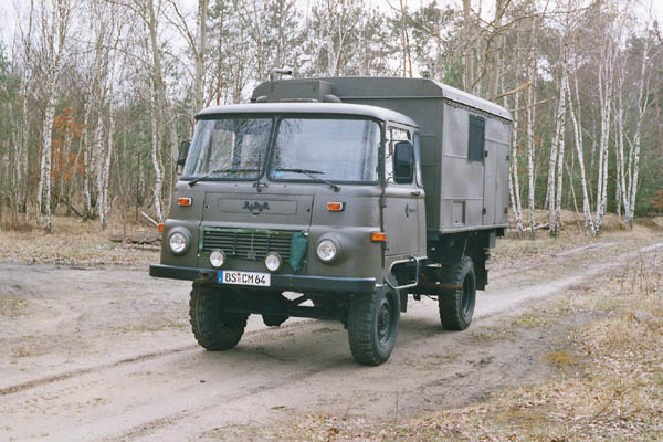 грузовик IfaMulticar