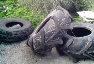 колеса, которые потребуются для болотохода