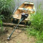 как самостоятельно изготовить лодочный болотоход