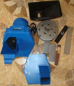 модель Зубр 5 измельчителя для зерна
