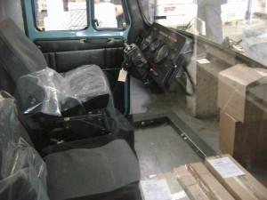 кабина автомобиля ЗИЛ-4331