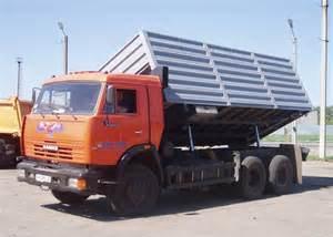 автомобиль КамАЗ-53212 с боковой разгрузкой
