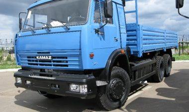 автомобиль КамАЗ-53215