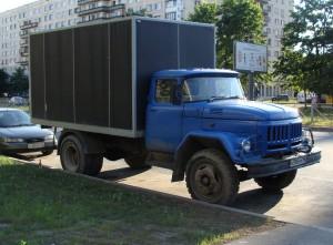 автомобиль ЗИЛ-130 с кабиной