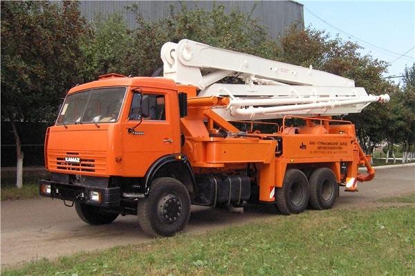 автокран на базе КамАЗ-65115 62