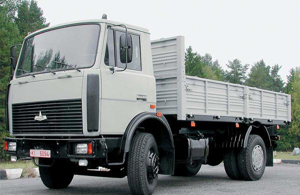 бортовой грузовик МАЗ-4370