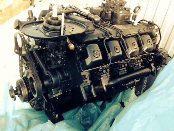 двигатель на КамАЗ-53215