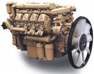 двигатель самосвала КамАЗ-55102