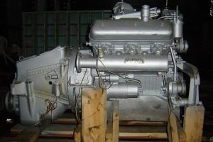 двигатель модели ЯМЗ 236