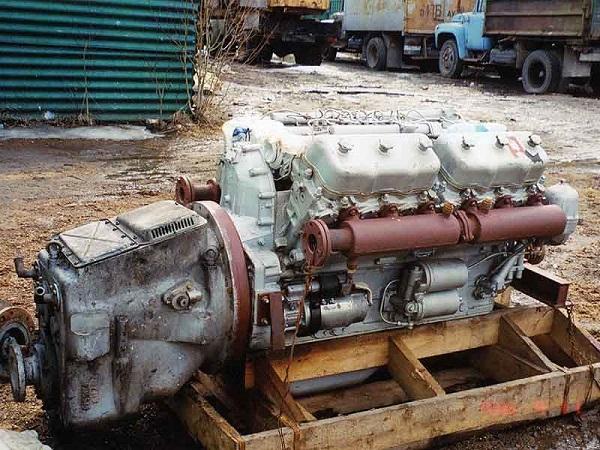 двигатель самосвала ЯМЗ-238