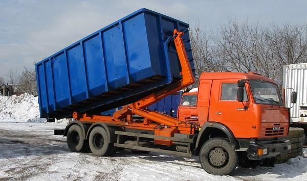 гидравлический механизм самосвала КамАЗ-55102