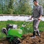 применение культиватора Викинг в садоводстве
