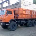 новый КамАЗ 53215 модели