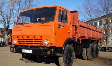 основные характеристики самосвала КамАЗ-55102