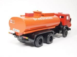 транспортировка цистерны на шасси КамАЗ-5320