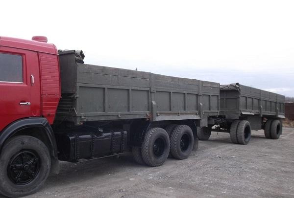 прицепы для автомобиля КамАЗ-53212