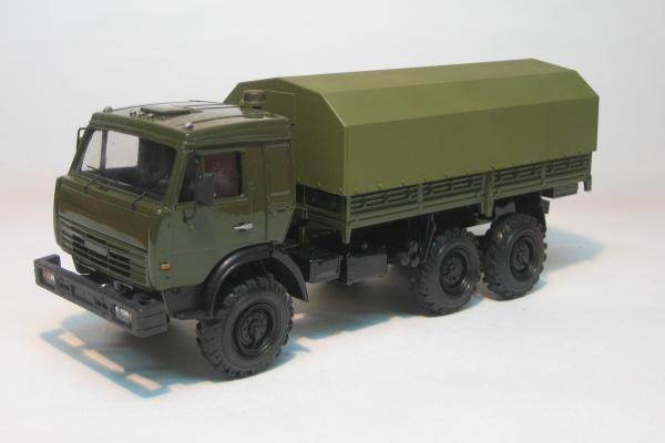 съемный тент для автомобиля КамАЗ-43114