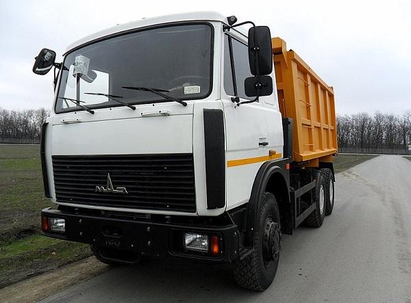 самосвал МАЗ модели 5516