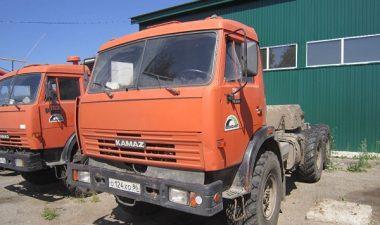 шасси автомобиля КамАЗ-43114