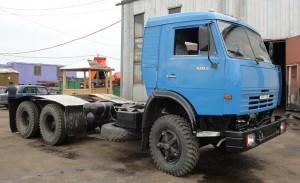 шасси грузовика КамАЗ-53215