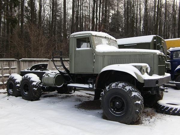 шасси автомобиля КрАЗ-255