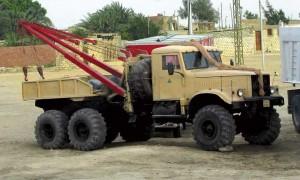 тягач КрАЗ 255 модели