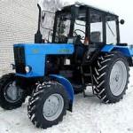 модификация 1 модели трактора МТЗ-82