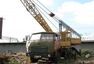 СМК 101А на базе МАЗ-5334