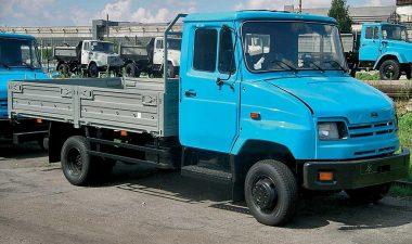модель автомобиля ЗИЛ-5301 Бычок