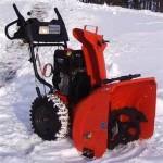 снегоочиститель Хускварна бензинового типа