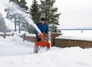 модель снегоуборочной машины Хускварна ST 261E