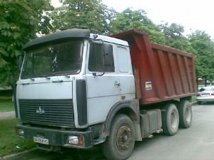 самосвал МАЗ 64229 модели