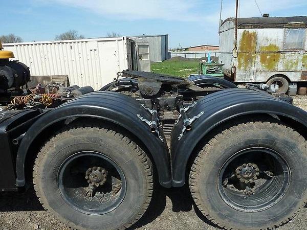 шасси автомобиля КамАЗ-5410