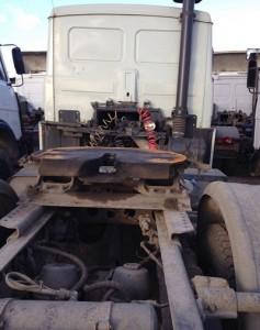 шасси автомобиля МАЗ-54329