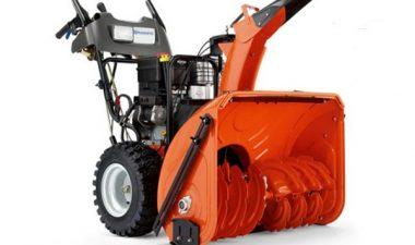 конструктивные особенности использования снегоочистителя Хускварна 276 модели
