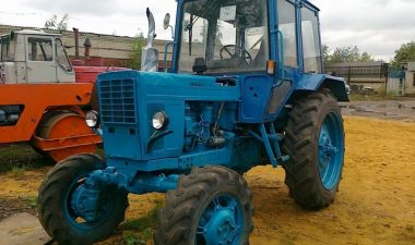описание трактора МТЗ-82