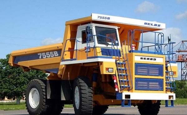модификация грузового карьерного самосвала БелАЗ-7555 В