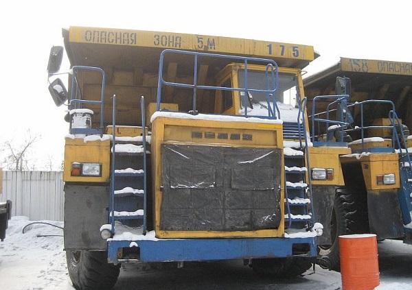 основные технические характеристики, которыми обладает БелАЗ-7555